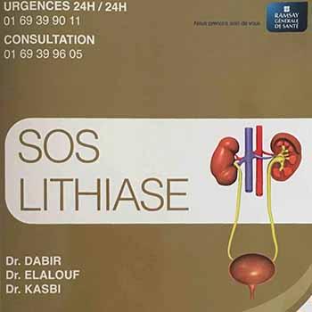 Création d'un SOS Lithiase à l'Hôpital Privé Claude Galien